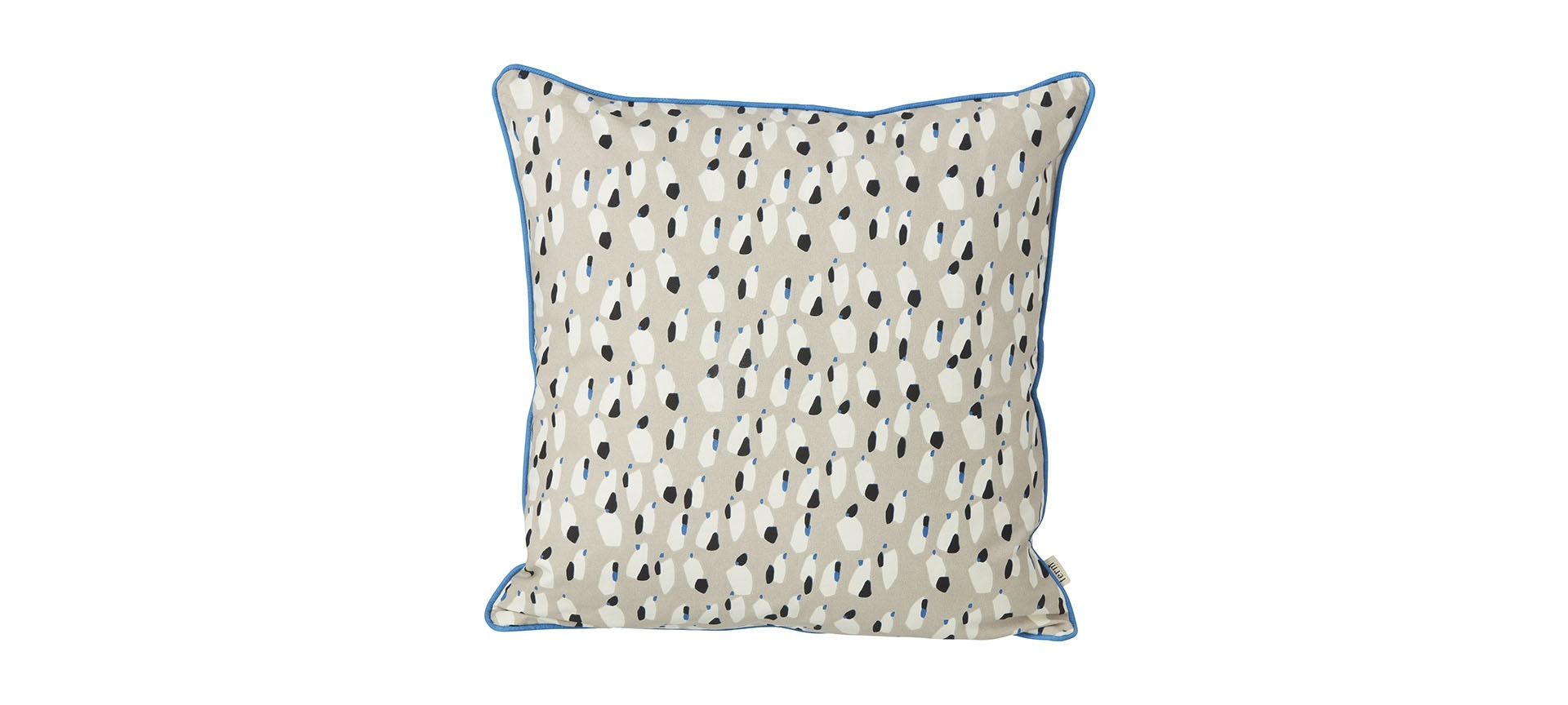 coussin spotted 50x50 cm ferm living blou. Black Bedroom Furniture Sets. Home Design Ideas
