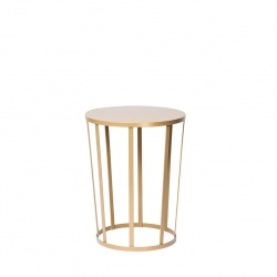 Tabouret-Table d'appoint Hollo