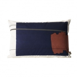 Coussin Colour Block - 60x40 - L1