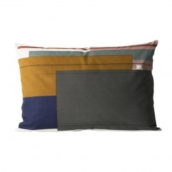 Coussin Colour Block - 60x40 - L2