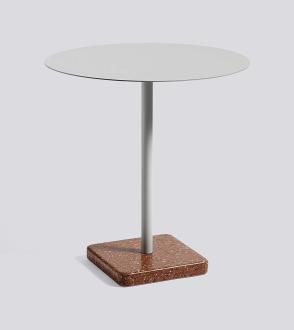Table ronde terrazzo Ø70 cm x H74 cm