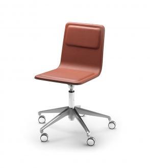 Chaise de bureau Laia 5 branches à roulettes
