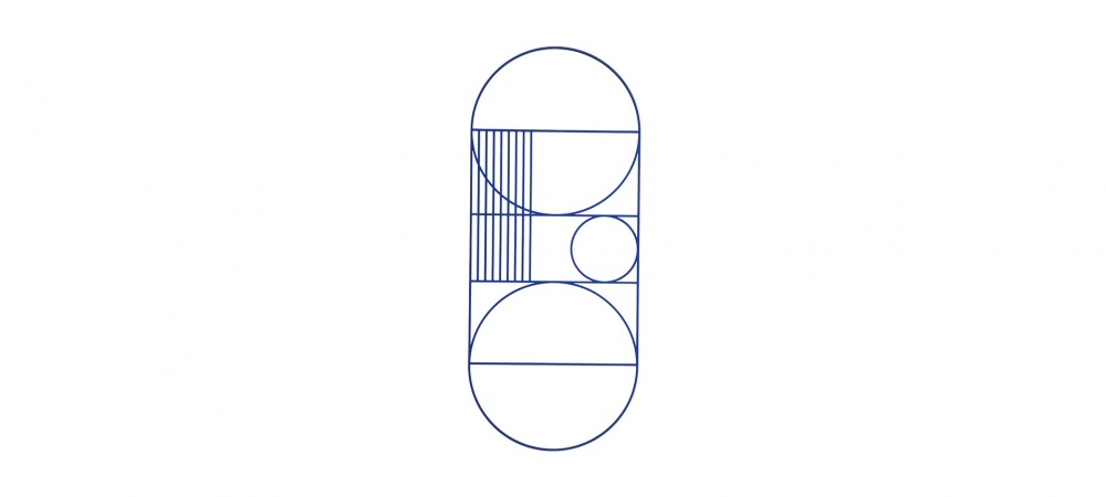 Mobile Outline Wall Oval