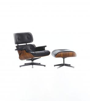 Lounge Chair & Ottoman - palissandre Santos
