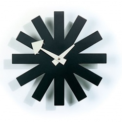 Horloge murale / Wall Clocks - Asterisk Clock