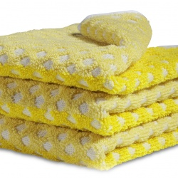 Serviette de bain / TOWEL FACE CLOTH AUTUMN YELLOW