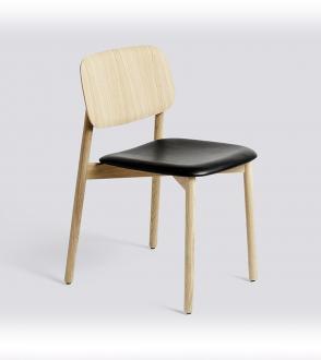 Chaise SOFT EDGE Assise en cuir silk