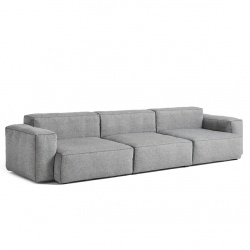 canapé mags soft avec accoudoirs bas / mags soft sofa with low armset