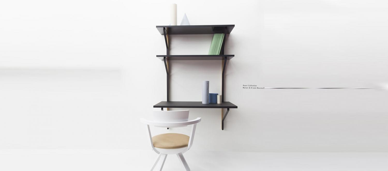 Module bureau et étagères Kaari - REB 013