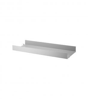 Etagères high edge métal 78x30 à l'unité - Système String