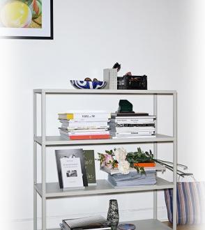 étagère New order 100cm gris clair