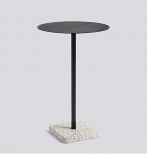 Table haute terrazzo
