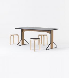 Table Kaari Artek - REB 012 - 160 x 80 cm